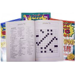 Large Print Crossword Puzzles & Search and Find 5 pack, Price: $17.00