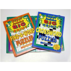 Super Jumbo Puzzle Books 4 pack, Price: $20.00