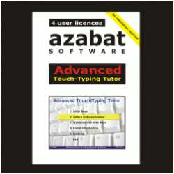 Talking Advanced Touch-Typing Tutor On CD, Price: $88.00