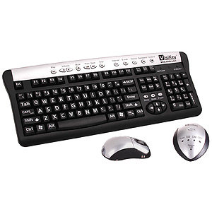 VisiKey Enhanced Visibilty Wireless Keyboard and Mouse, Price: $140.00